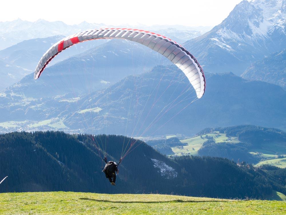 Paragliden-werfenweng