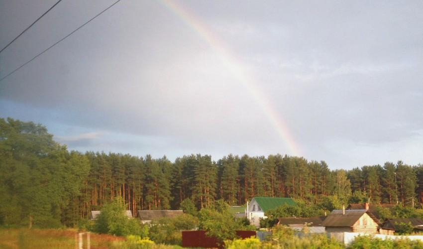 Russland Regenbogen