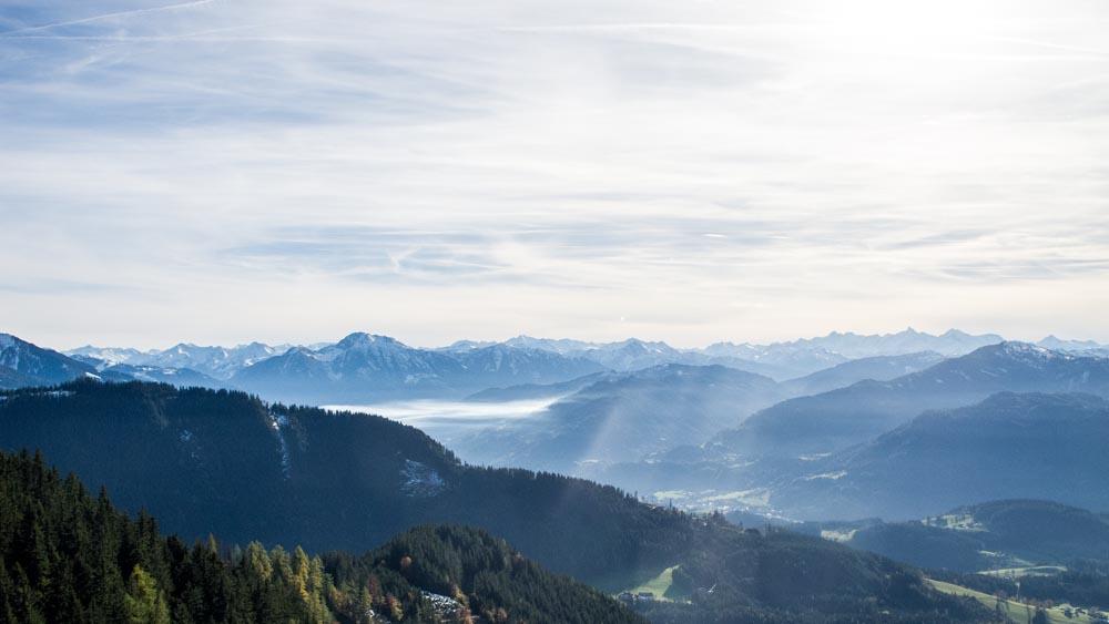 Salzburgerland Alpen Panorama