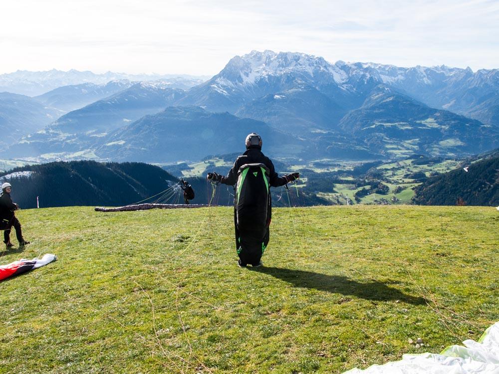 Salzburgerland-Paragliden