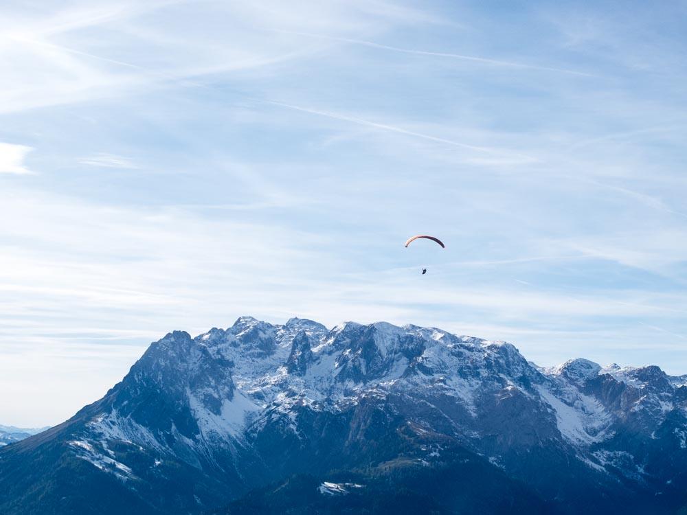 Salzburgerland-Paragliding