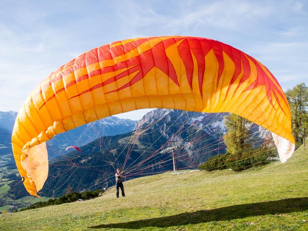 Salzburgerland-werfenweng-Paragliden