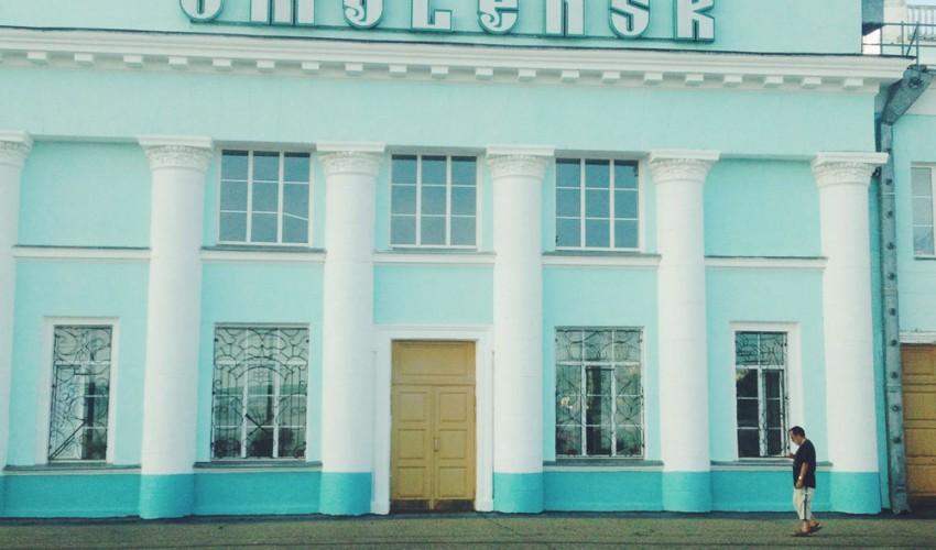 Russland: Smolensk-Bahnhof