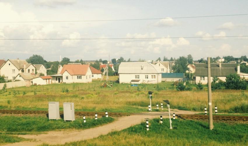 Weissrussland-Dorf
