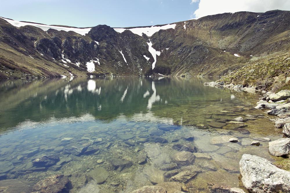 Zirbitz_Eintauchen_See