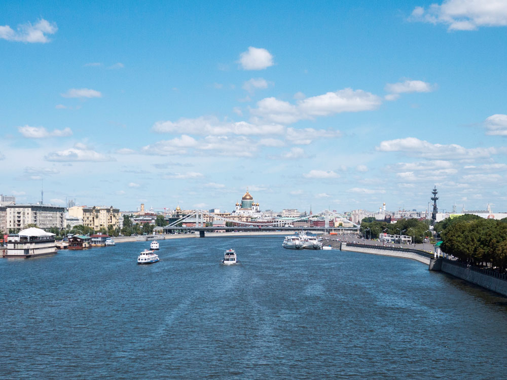Moskau Ausblick