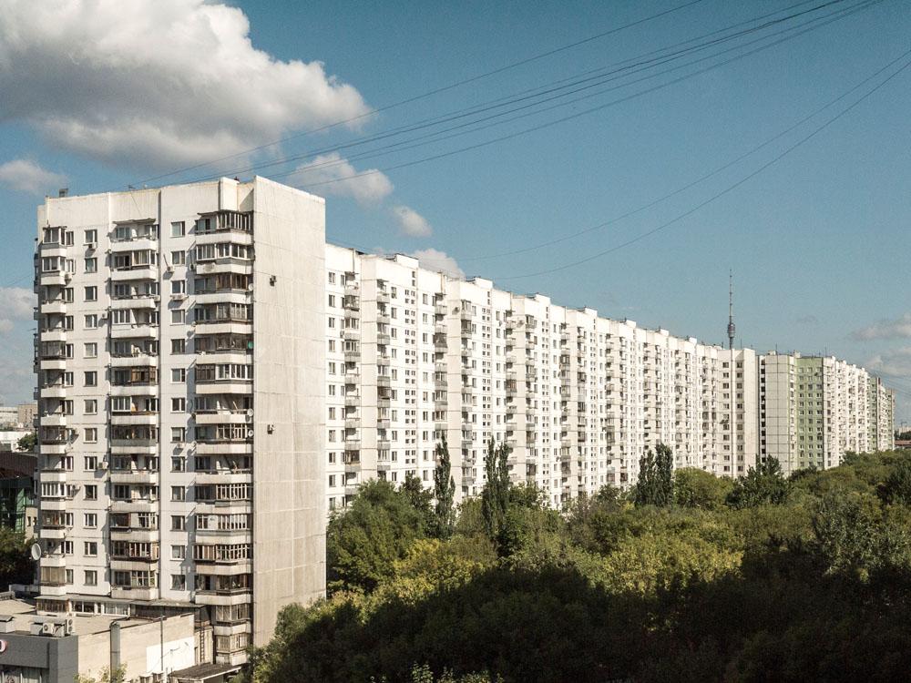 Moskau Plattenbau