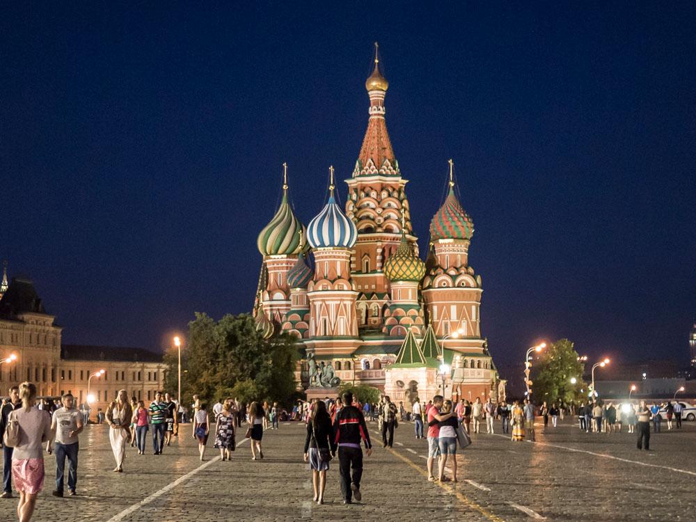 Moskau St. Basilius Kathedrale