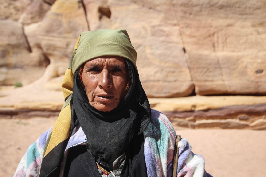 Das Leben in der Wüste zeichnet die Menschen