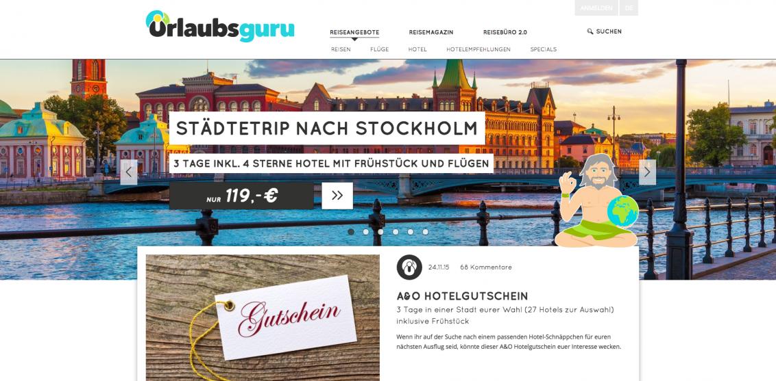 Reiseschnäppchen Urlaub zum Bestpreis Urlaubsguru.de