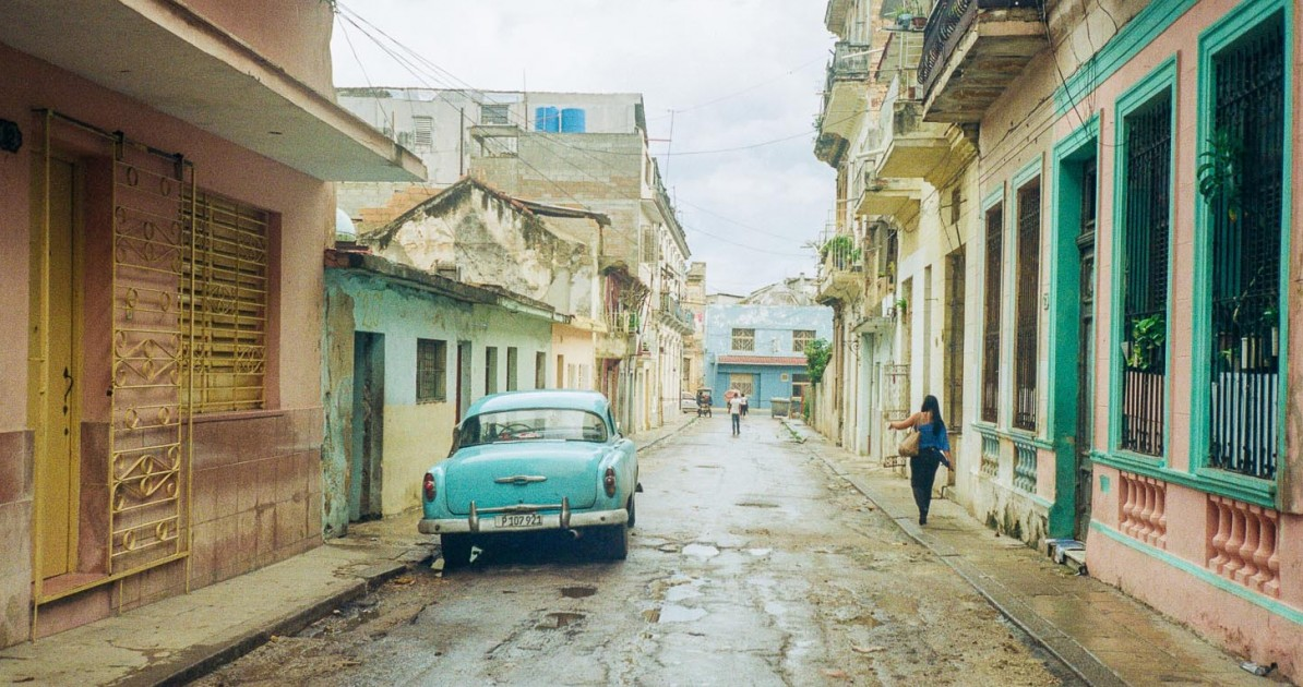 The rain season started two days before we left. The rain caused floods in some parts of Havana.