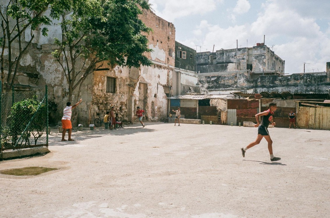 Baseball, the national sport. Havana.
